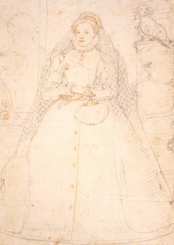 Sketch-of-Queen-Elizabeth-I-1575