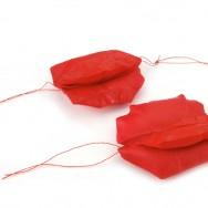 la dobladura roja_earrings