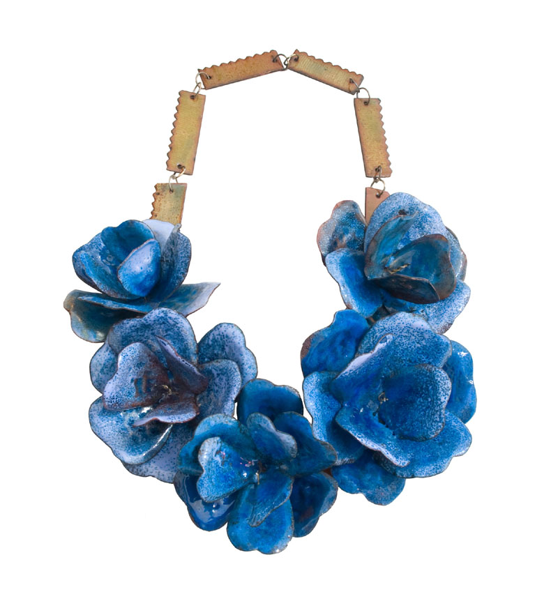 Francisca_Bauza_Blue Flowers Necklace_email