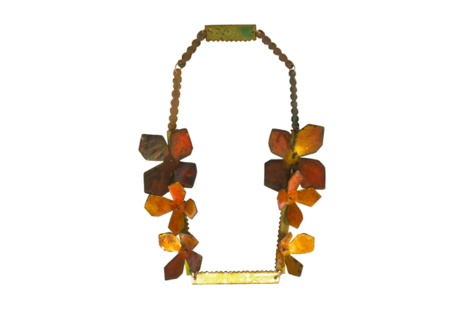"necklace ""Perlblume"""