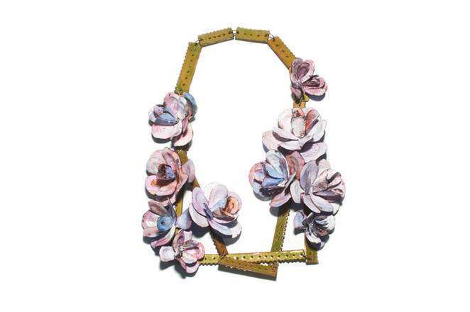 """necklace """"a l´eau de rose"""""""