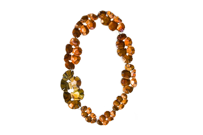 "necklace ""anaranjada"""