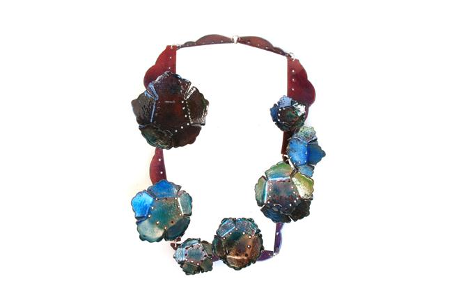 """necklace """"morada"""""""