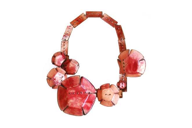 "necklace ""rosada"""