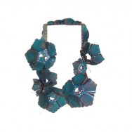 "necklace ""verde azulada"""